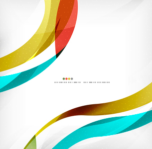 Business wave corporate background, flyer, brochure design templateのイラスト素材 [FYI03099838]