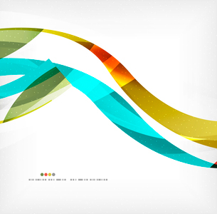 Business wave corporate background, flyer, brochure design templateのイラスト素材 [FYI03099839]