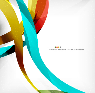 Business wave corporate background, flyer, brochure design templateのイラスト素材 [FYI03099840]