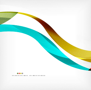 Business wave corporate background, flyer, brochure design templateのイラスト素材 [FYI03099841]