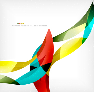 Business wave corporate background, flyer, brochure design templateのイラスト素材 [FYI03099842]