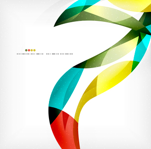 Business wave corporate background, flyer, brochure design templateのイラスト素材 [FYI03099843]