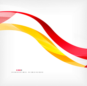 Business wave corporate background, flyer, brochure design templateのイラスト素材 [FYI03099859]