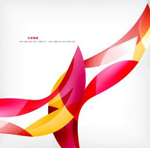 Business wave corporate background, flyer, brochure design templateのイラスト素材 [FYI03099860]