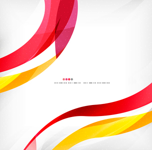 Business wave corporate background, flyer, brochure design templateのイラスト素材 [FYI03099861]