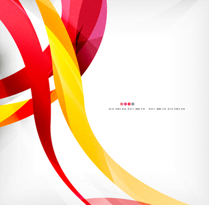 Business wave corporate background, flyer, brochure design templateのイラスト素材 [FYI03099863]