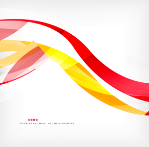 Business wave corporate background, flyer, brochure design templateのイラスト素材 [FYI03099869]