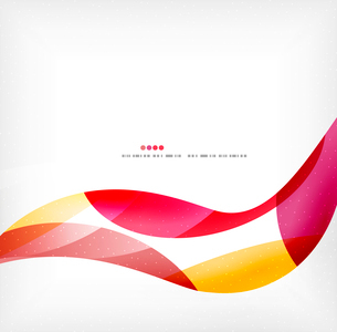 Business wave corporate background, flyer, brochure design templateのイラスト素材 [FYI03099875]