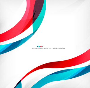 Business wave corporate background, flyer, brochure design templateのイラスト素材 [FYI03099880]