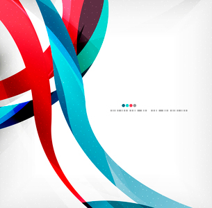 Business wave corporate background, flyer, brochure design templateのイラスト素材 [FYI03099882]