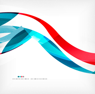 Business wave corporate background, flyer, brochure design templateのイラスト素材 [FYI03099885]