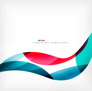 Business wave corporate background, flyer, brochure design templateのイラスト素材 [FYI03099887]