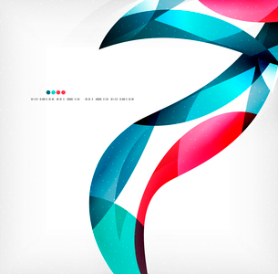 Business wave corporate background, flyer, brochure design templateのイラスト素材 [FYI03099889]