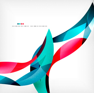 Business wave corporate background, flyer, brochure design templateのイラスト素材 [FYI03099890]