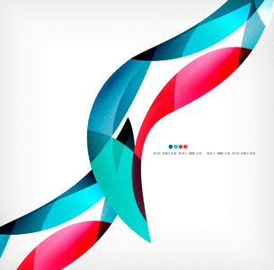 Business wave corporate background, flyer, brochure design templateのイラスト素材 [FYI03099892]