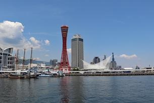 港町神戸の風景の写真素材 [FYI03099894]
