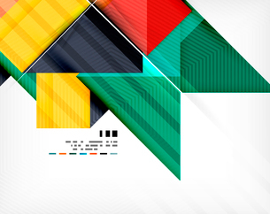 Geometric abstraction business poster. For banners, business backgrounds, presentationsのイラスト素材 [FYI03099896]