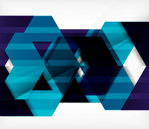 Vector business geometric design backgroundのイラスト素材 [FYI03099914]