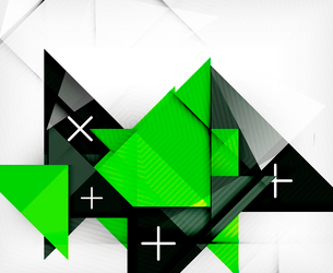 Triangle geometric shape abstract background. Bright abstractionのイラスト素材 [FYI03099953]