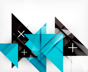 Triangle geometric shape abstract background. Bright abstractionのイラスト素材 [FYI03099954]