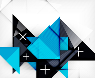 Triangle geometric shape abstract background. Bright abstractionのイラスト素材 [FYI03099956]