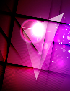 Hi-tech futuristic abstract blurred flares and colorsのイラスト素材 [FYI03100114]