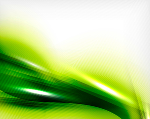 Green summer wave - business eco abstract backgroundのイラスト素材 [FYI03100124]