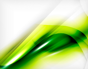 Green summer wave - business eco abstract backgroundのイラスト素材 [FYI03100126]