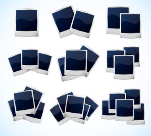 Set of photo framesのイラスト素材 [FYI03100239]