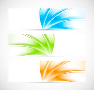 Set of banners. Bright illustrationのイラスト素材 [FYI03100330]