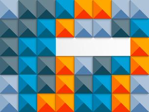 Geometric background. Abstract illustrationのイラスト素材 [FYI03100339]