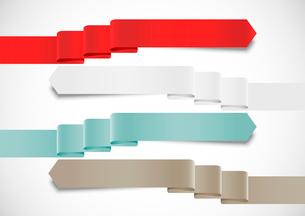 Set of ribbonsのイラスト素材 [FYI03100343]