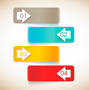 Set of abstract bannersのイラスト素材 [FYI03100362]