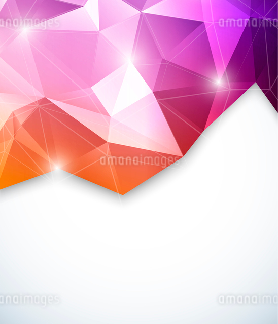 Abstract geometric backgroundのイラスト素材 [FYI03100365]