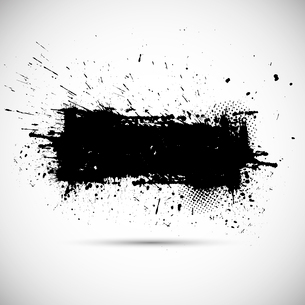 Grunge banner. Abstract vector background. Vintage styleのイラスト素材 [FYI03100606]