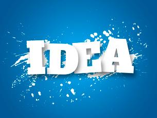 Idea. Business conceptのイラスト素材 [FYI03100619]