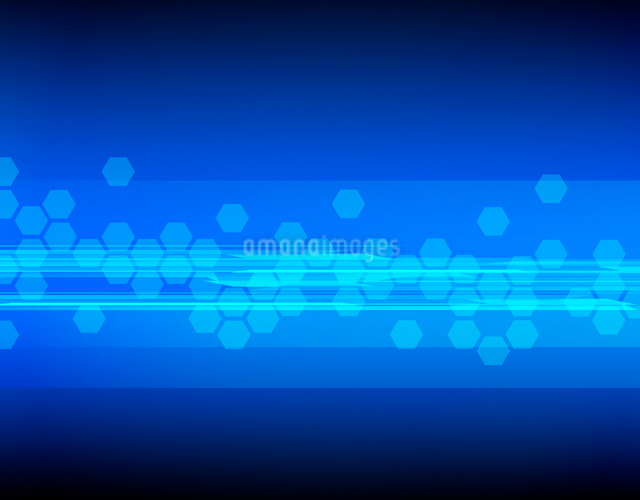Abstract tech backgroundのイラスト素材 [FYI03100628]