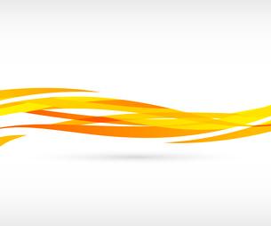 Abstract orange wave backgroundのイラスト素材 [FYI03100637]