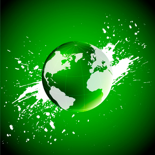 Green world. Ecology conceptのイラスト素材 [FYI03100639]