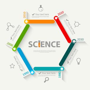 Science infographicsのイラスト素材 [FYI03100701]