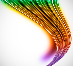 Abstract bright background with shadow and colorful effectのイラスト素材 [FYI03100791]
