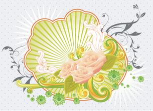 Illustration of backgroundのイラスト素材 [FYI03100900]