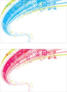 Illustration of backgroundのイラスト素材 [FYI03100921]