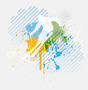 Illustration of backgroundのイラスト素材 [FYI03100959]