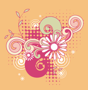 Illustration of backgroundのイラスト素材 [FYI03101000]