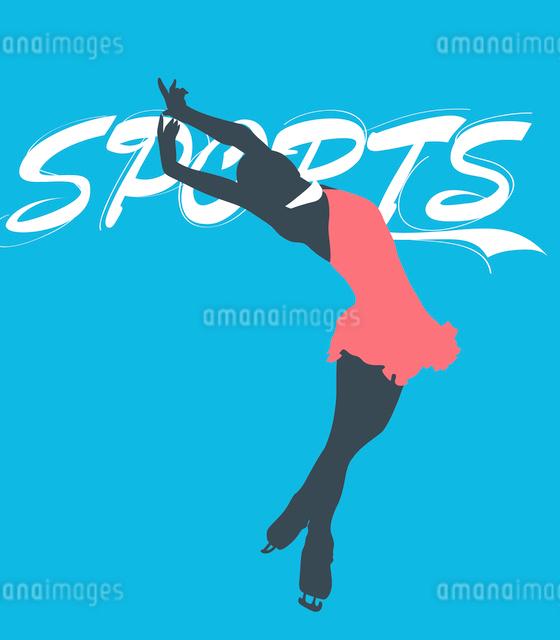 The illustration of winter sports in Winter Olympicsのイラスト素材 [FYI03101481]