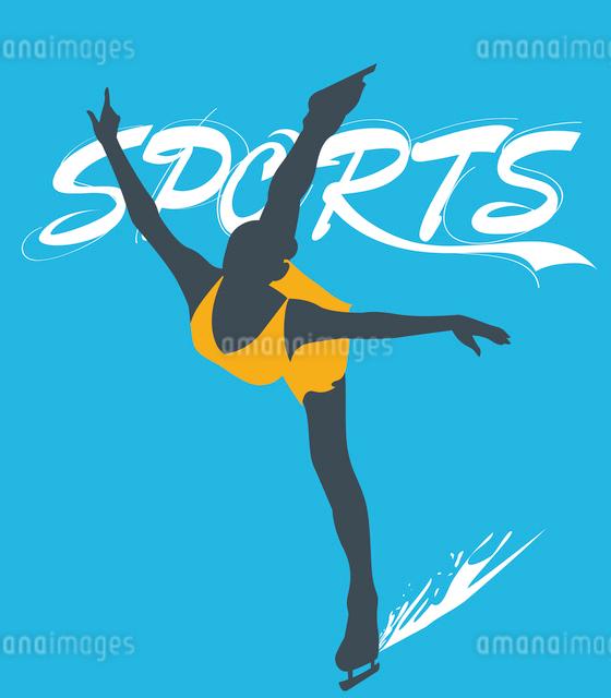 The illustration of winter sports in Winter Olympicsのイラスト素材 [FYI03101485]