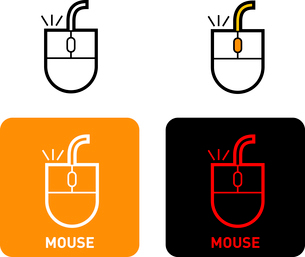 Mouse iconのイラスト素材 [FYI03101541]