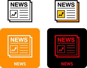 News iconのイラスト素材 [FYI03101546]