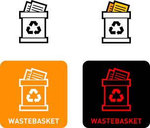 Trash iconのイラスト素材 [FYI03101547]